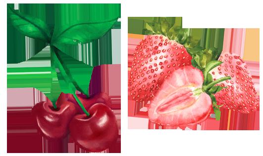 """""""disegno fragole e ciliegie"""""""